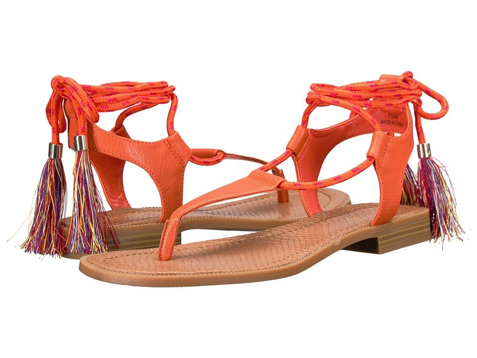 Nine West Gannon 3 (Orange Synthetic) Women