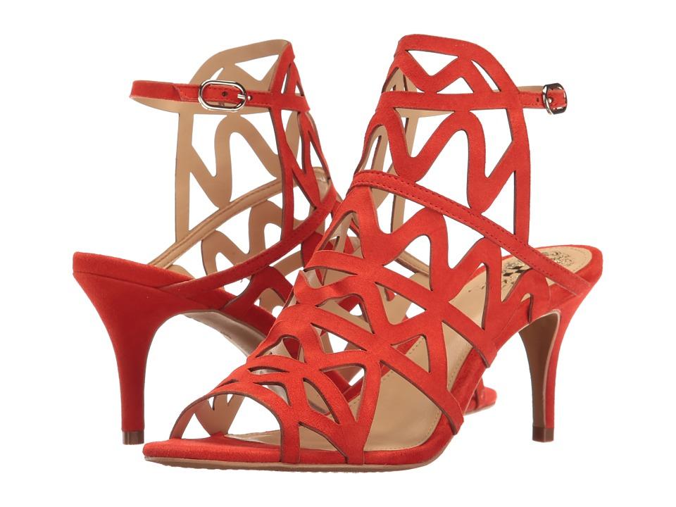 Vince Camuto - Prisintha (Blood Orange True Suede) Women's Shoes