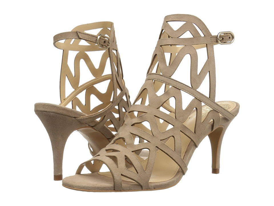 Vince Camuto - Prisintha (Almond Beige True Suede) Women's Shoes