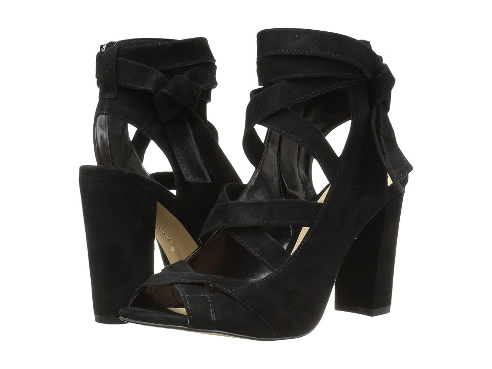 Vince Camuto - Sammson (Black True Suede) Women's Shoes