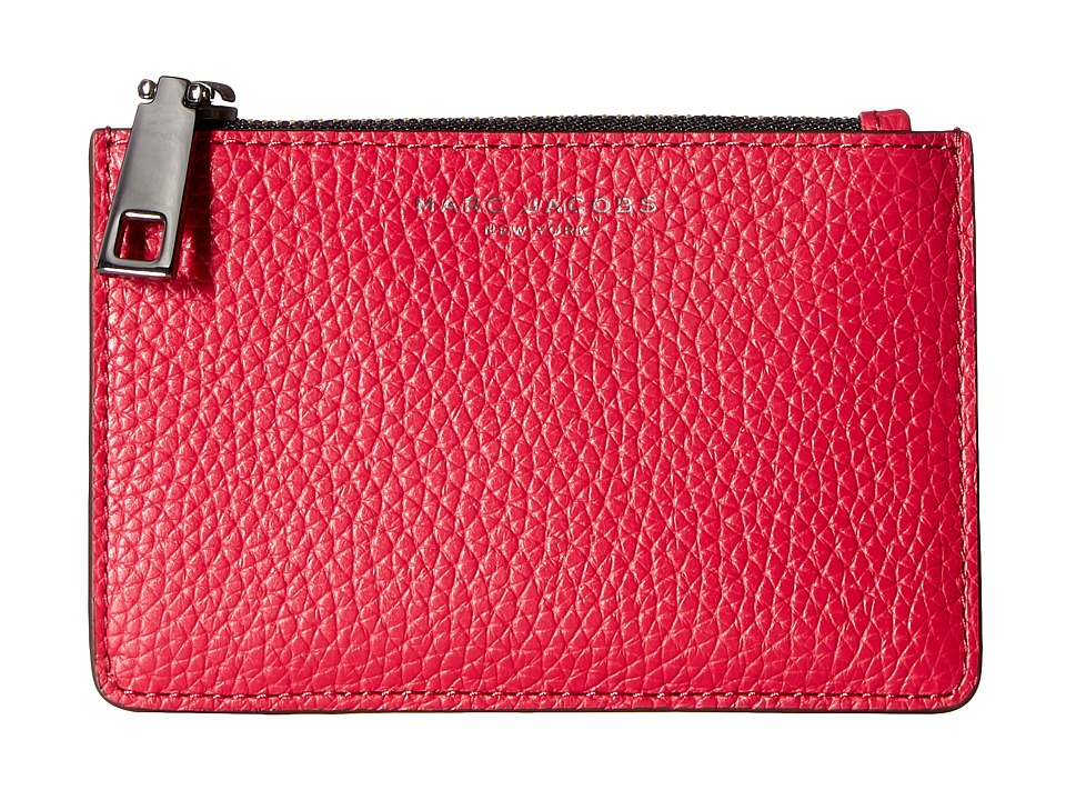 Marc Jacobs - Gotham Top Zip Multi Case (Raspberry) Handbags