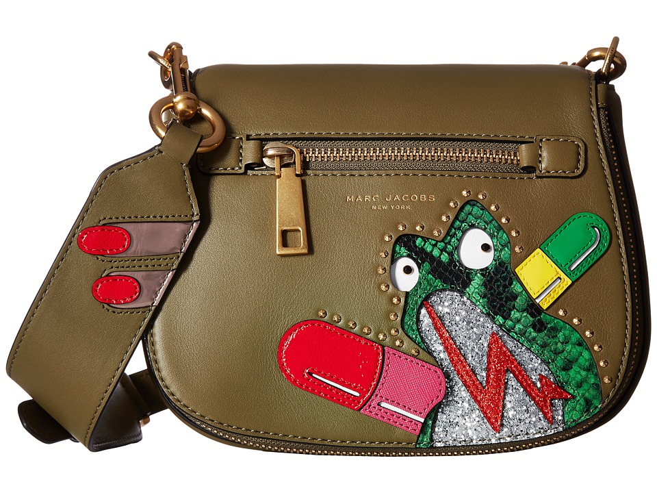 Marc Jacobs - Verhoeven Small Nomad (Army Green) Handbags