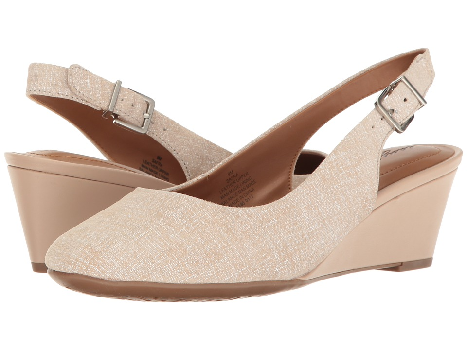Easy Spirit - Safra (Taupe Leather) Women's Shoes
