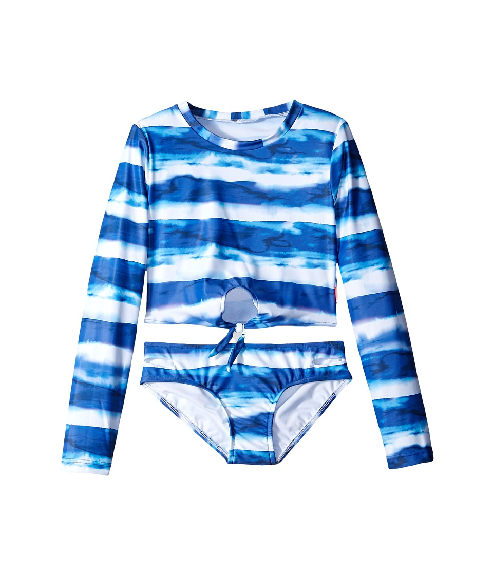 Seafolly Kids - Riviera Belle Cropped Surf Set (Little Kids/Big Kids) (Indigo) Girl's Swimwear Sets