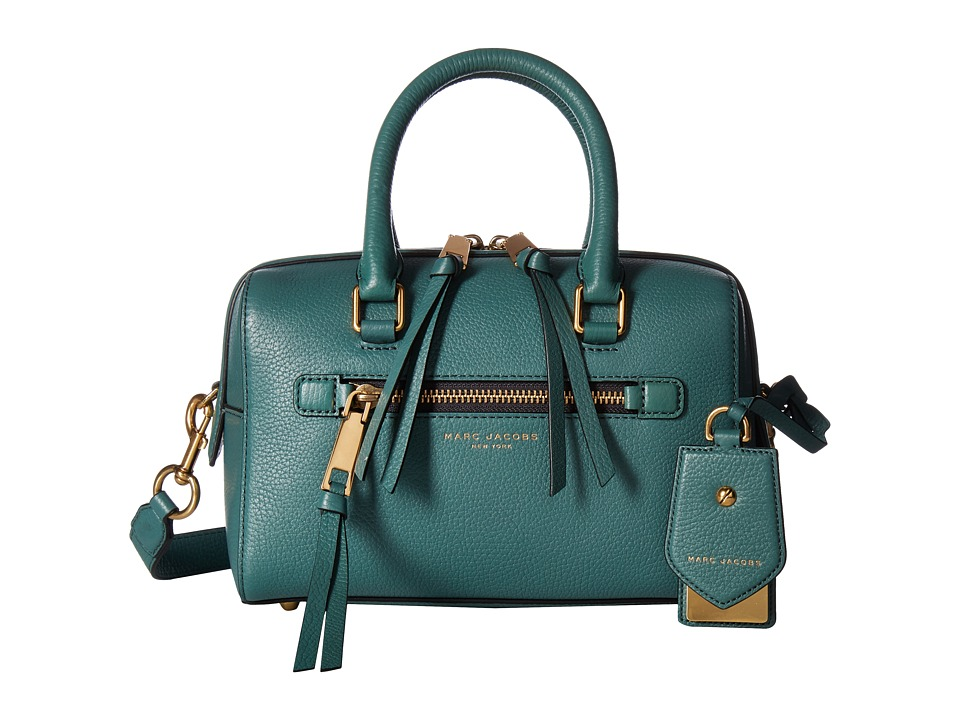 Marc Jacobs - Recruit Small Bauletto (Hazy Blue) Satchel Handbags