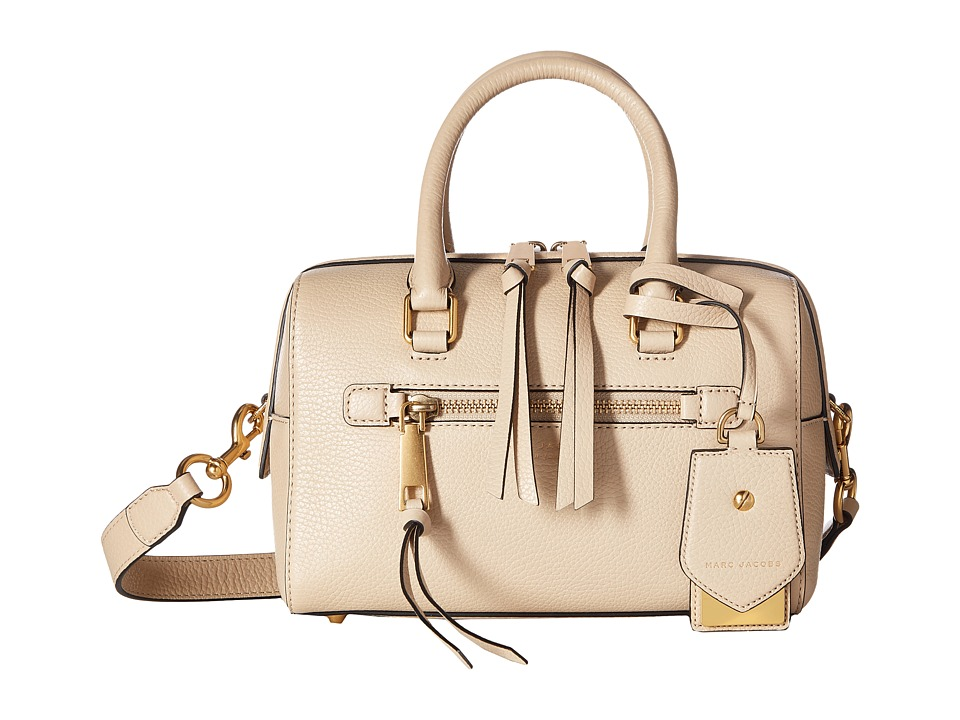 Marc Jacobs - Recruit Small Bauletto (Antique Beige) Satchel Handbags