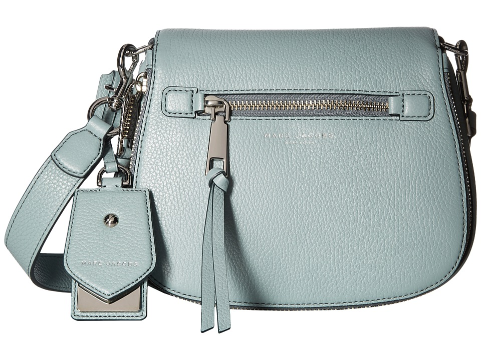 Marc Jacobs - Recruit Small Saddle Bag (Glacier) Handbags