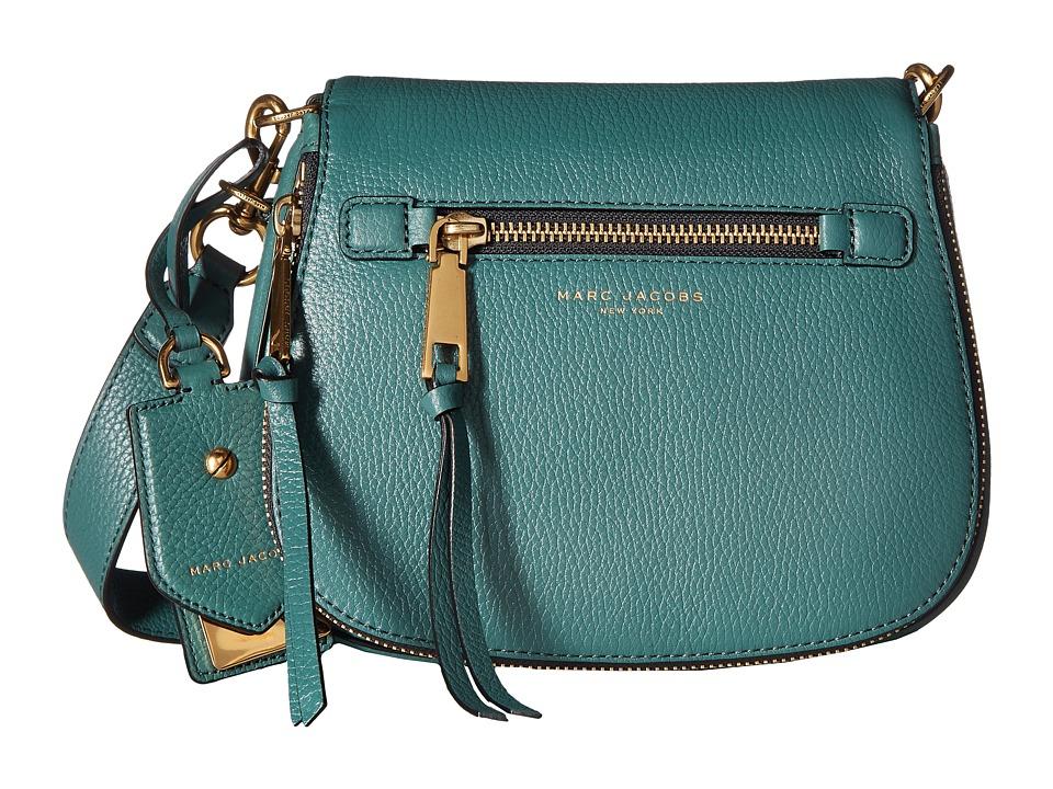 Marc Jacobs - Recruit Small Saddle Bag (Hazy Blue) Handbags