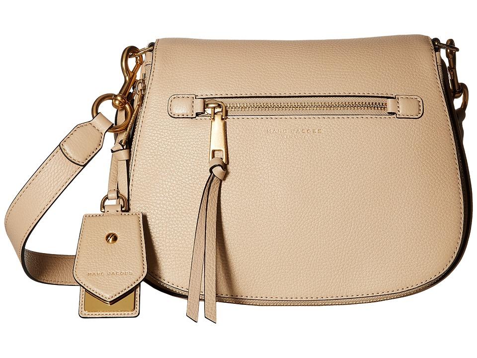 Marc Jacobs - Recruit Saddle Bag (Antique Beige) Handbags