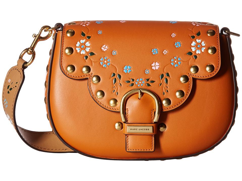 Marc Jacobs - 70s Studded Navigator (Rust Multi) Handbags