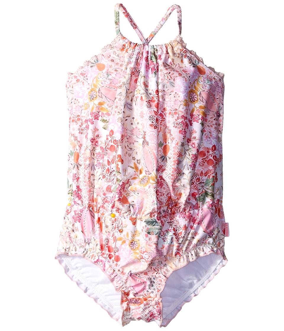 Seafolly Kids - Prairie Girl Blouson Tank Top (Toddler/Little Kids) (Ballet Pink) Girl's Swimwear
