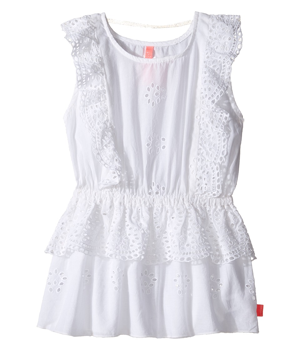 Seafolly Kids - Prairie Girl Dress Cover-Up (Toddler/Little Kids) (White) Girl's Swimwear