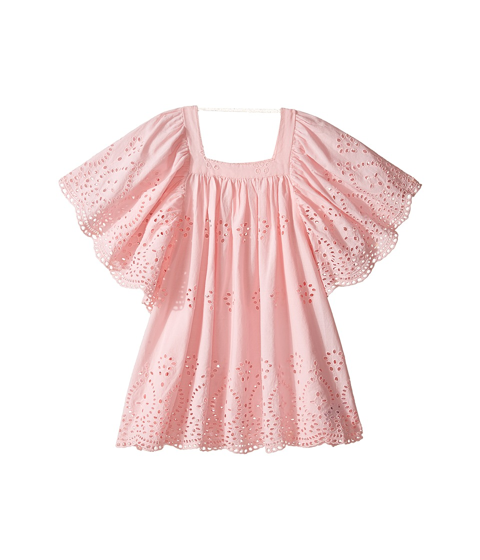 Seafolly Kids - Prairie Girl Angel Dress Cover-Up (Toddler/Little Kids) (Ballet Pink) Girl's Swimwear