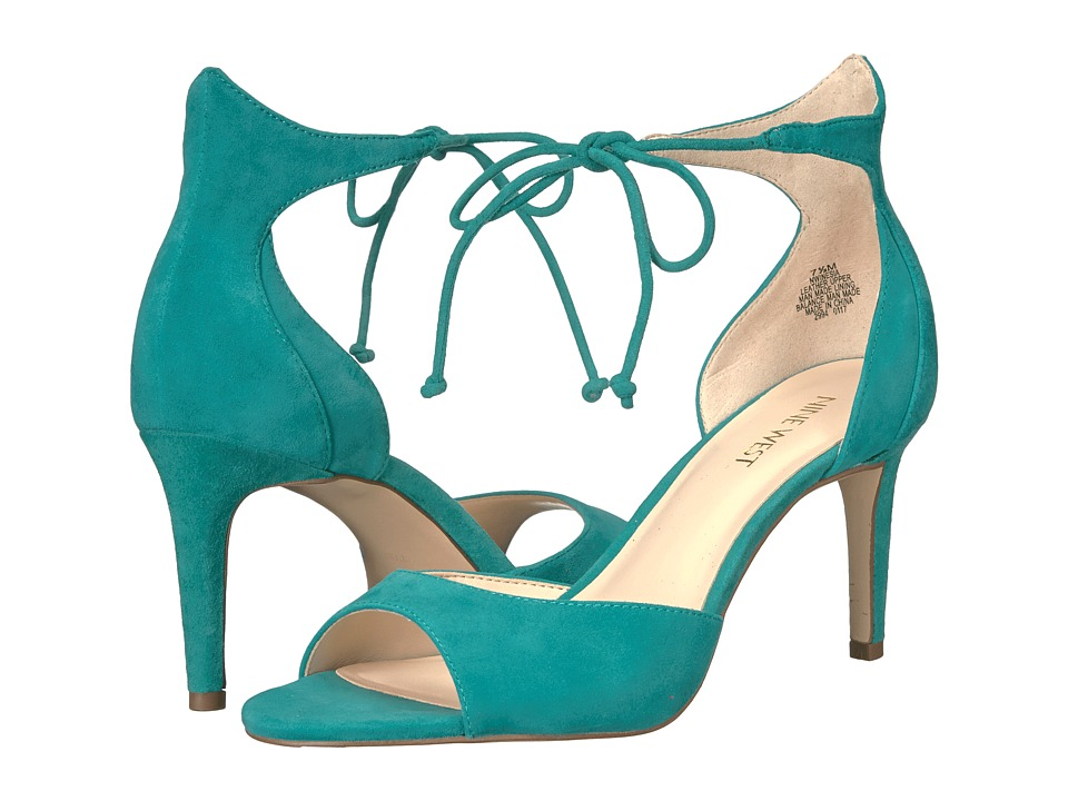 Nine West Inesia (Dark Turquoise Suede) Women