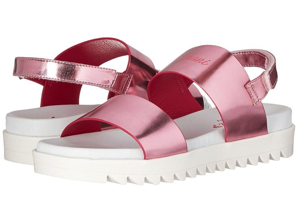 Armani Junior - Logo Sandal with Straps (Little Kid/Big Kid) (Multi) Girls Shoes