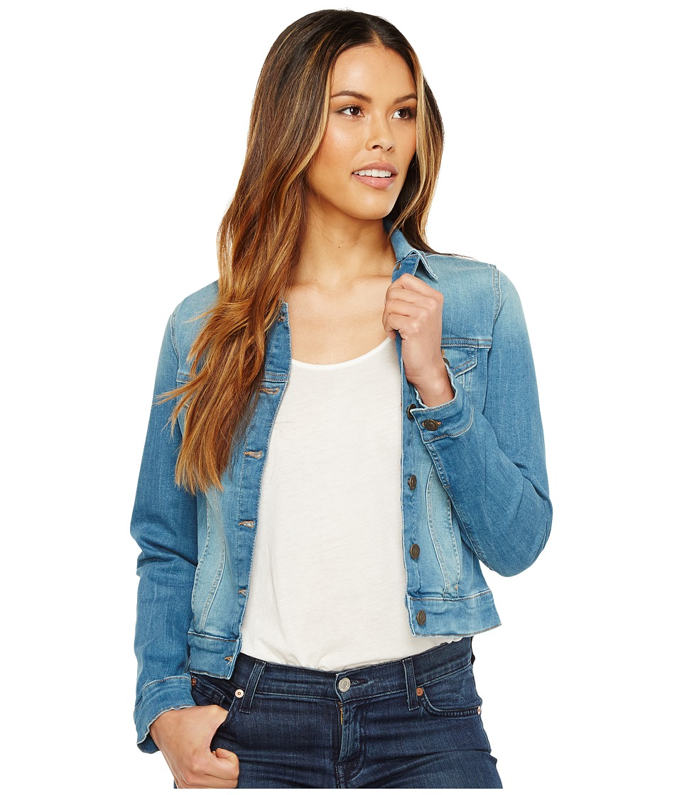 Mavi Jeans - Samantha Jacket (Light Shaded Tribeca) Women's Coat