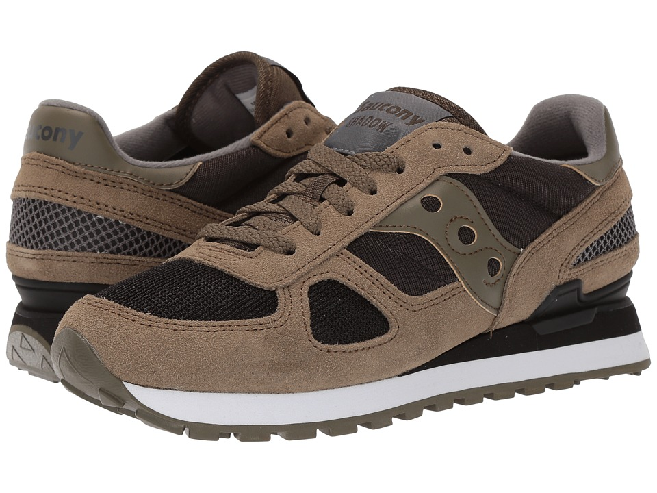 Saucony Originals - Shadow Original (Olive/Black) Men's Classic Shoes