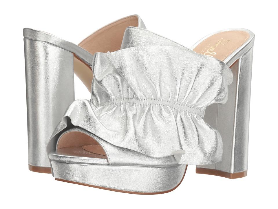 Shellys London Delphine Sandal (Silver) High Heels