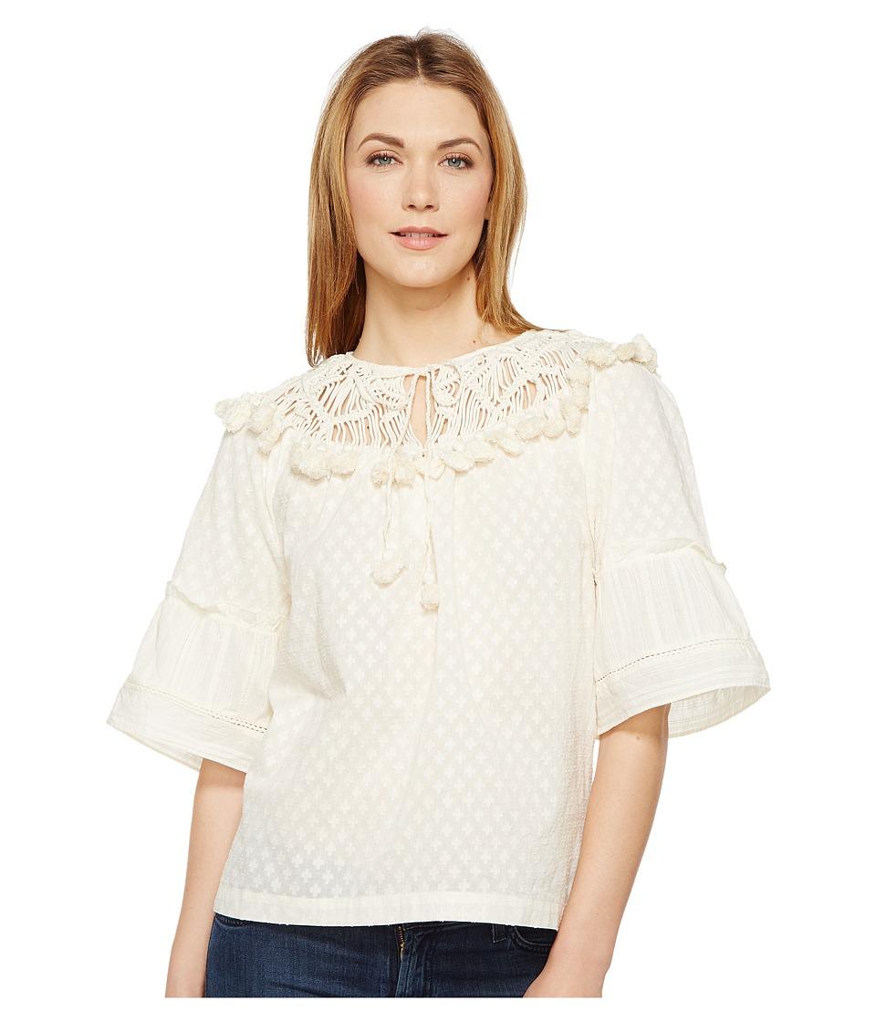 Rachel Zoe - Janis Top (Ecru) Women's Clothing