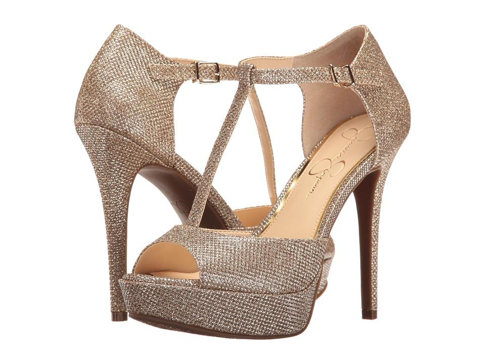 Jessica Simpson - Bansi (Gold) High Heels
