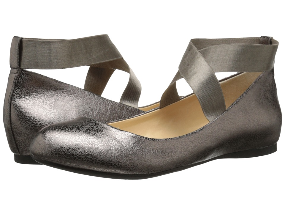 Jessica Simpson Mandayss Gunmetal Womens Flat Shoes