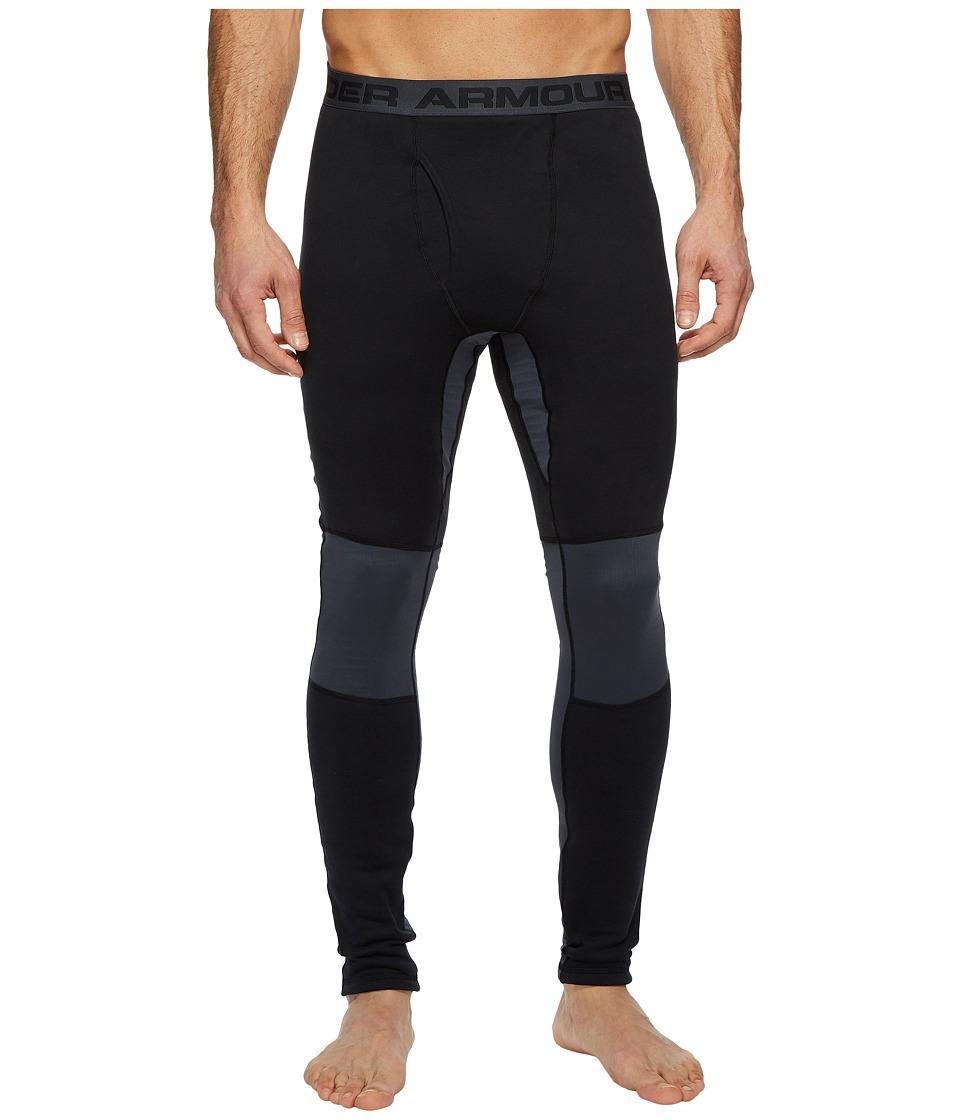 Under Armour Extreme Base Leggings (Black/Stealth Gray) Men