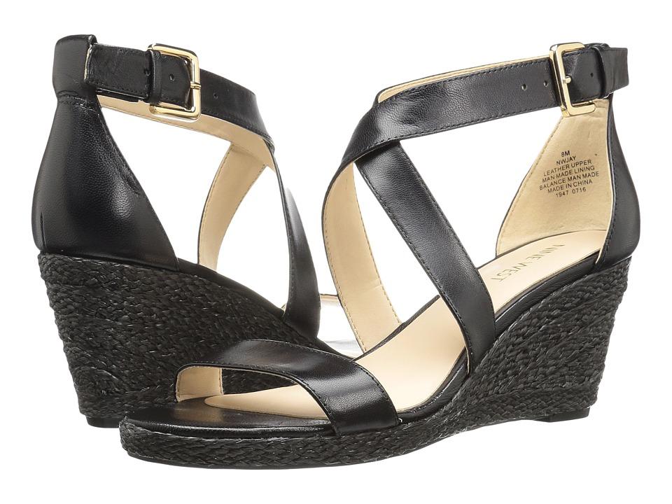 Nine West - Jay (Black Leather) Women's Shoes