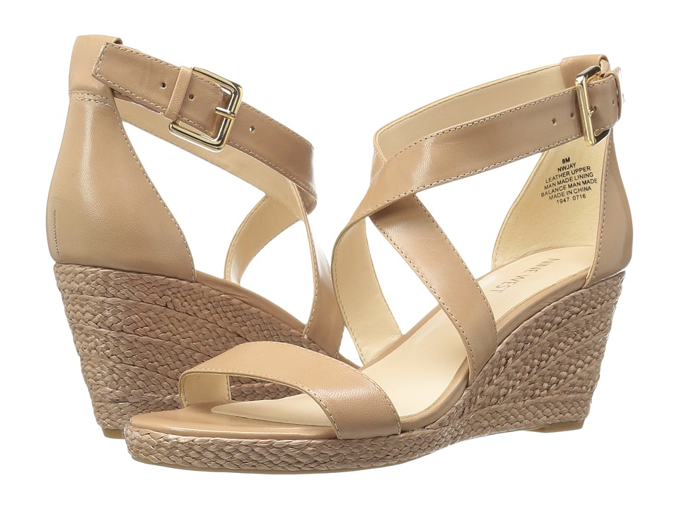 Nine West - Jay (Taupe Leather) Women's Shoes