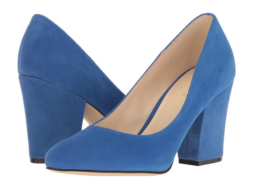 Nine West - Scheila (Blue Suede) High Heels
