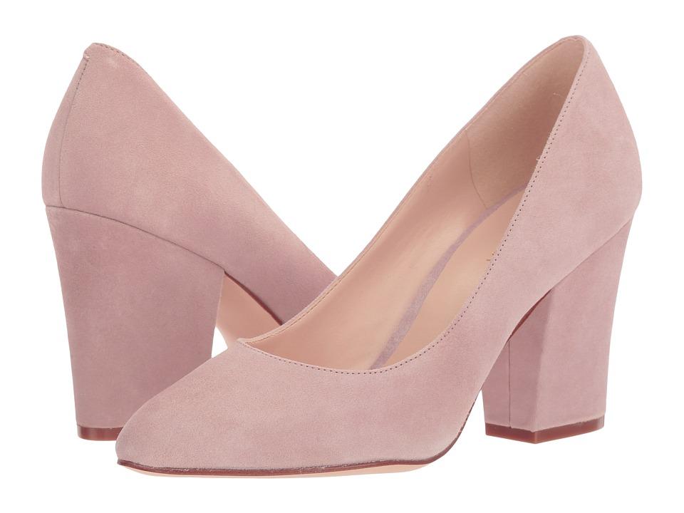 Nine West - Scheila (Natural Suede) High Heels