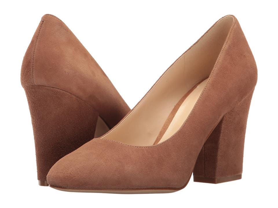 Nine West - Scheila (Dark Natural Suede) High Heels