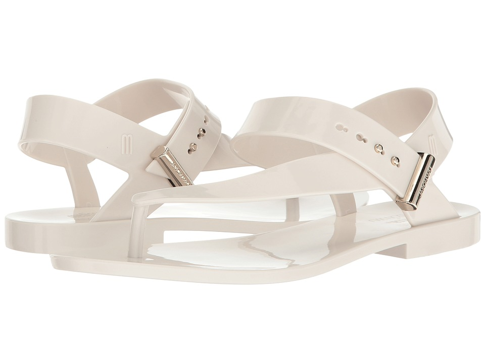 Melissa Shoes - Charlotte + Jason Wu (White) Women's Dress Sandals