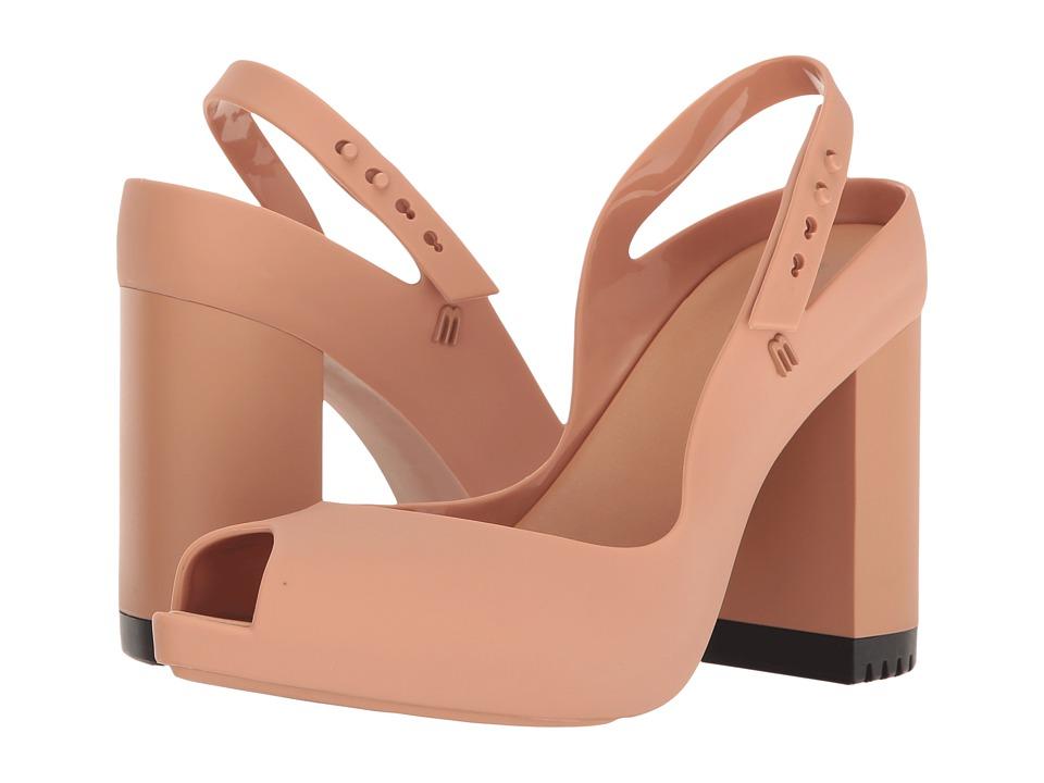 Melissa Shoes - Lady Dragon (Dark Beige) High Heels