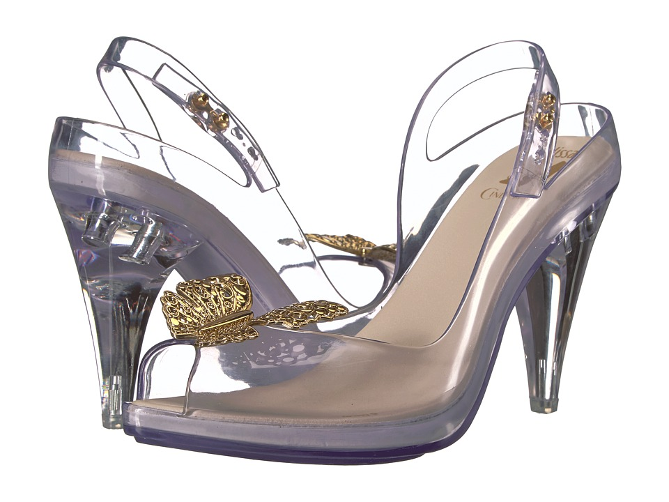 Melissa Shoes - Lady Dragon + Cinderella (Clear) Women's Shoes