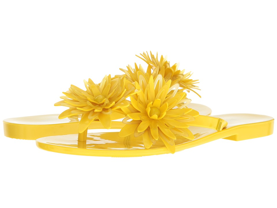 Melissa Shoes - Harmonic Garden III (Yellow) Women's Sandals