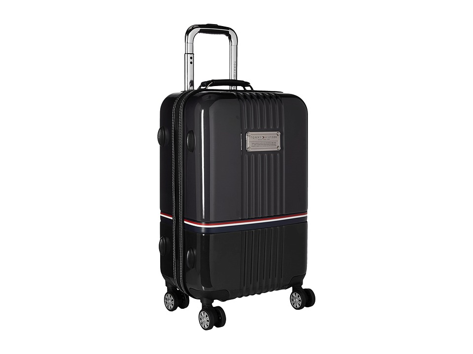 Tommy Hilfiger - Duo Chrome 21 Upright Suitcase (Grey/Black) Luggage