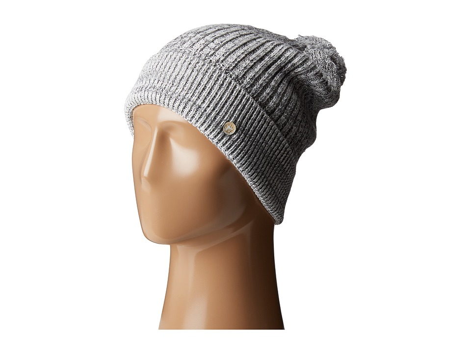 Birkenstock - Fashion Bling Hat (Gray/White/Silver) Beanies