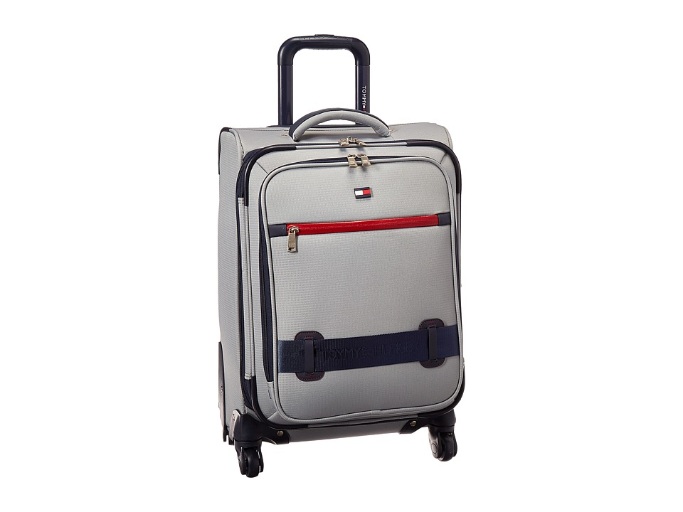 Tommy Hilfiger - Nomad 19 Upright Suitcase (Grey) Carry on Luggage