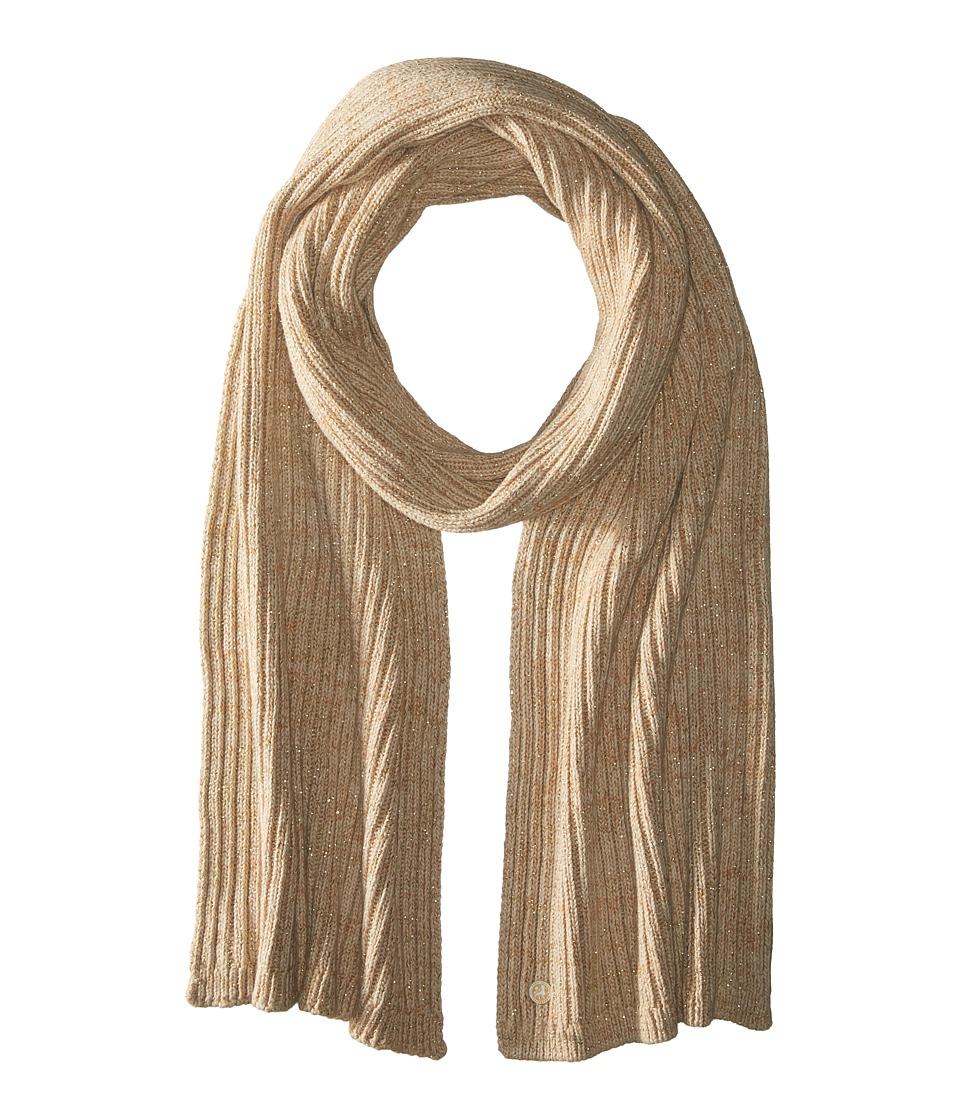 Birkenstock - Fashion Bling Scarf (Brown/Beige/Gold) Scarves