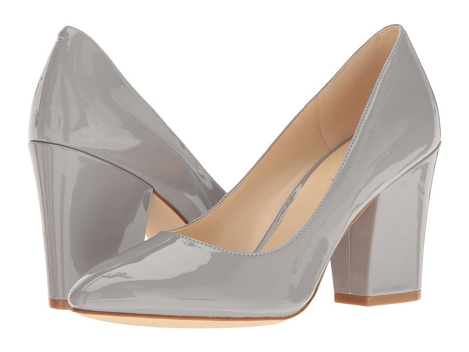 Nine West - Scheila (Grey Patent) High Heels