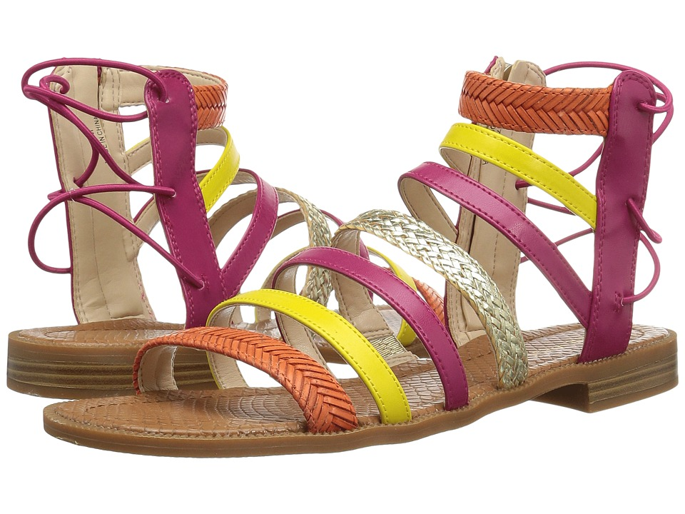Nine West - Xema 3 (Pink Multi Synthetic) Women's Sandals