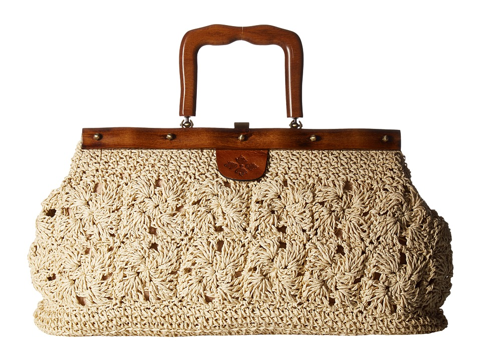 Patricia Nash - Carmen Frame (Natural) Handbags