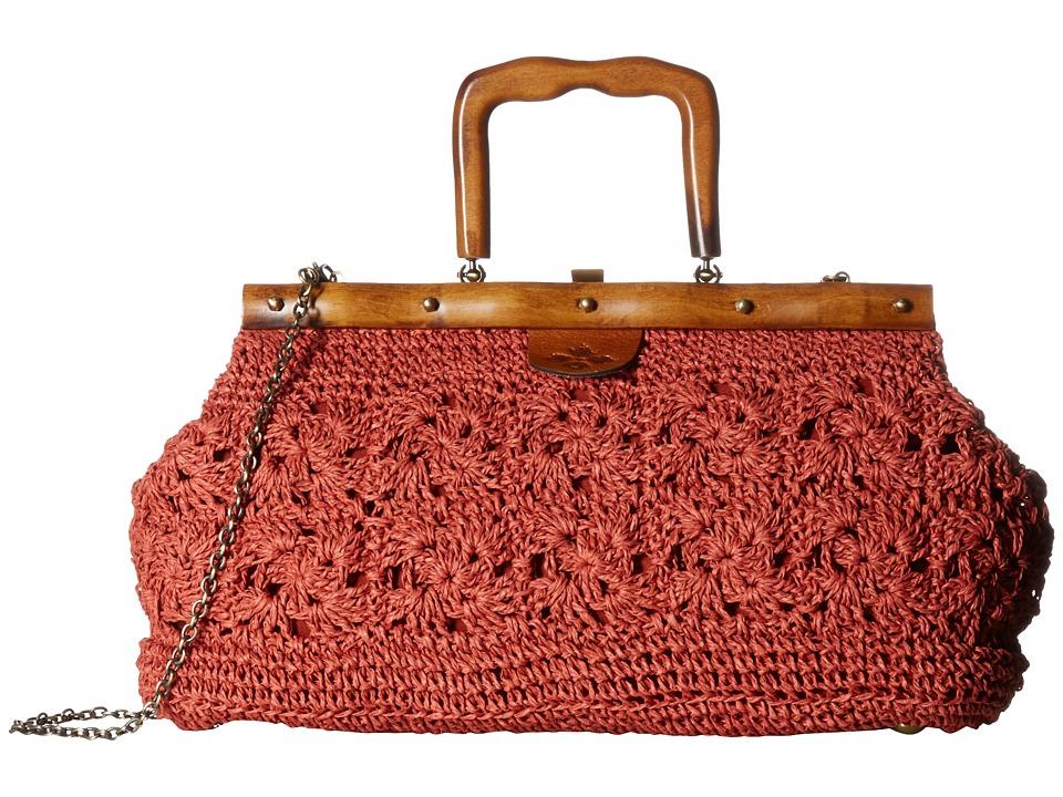Patricia Nash - Carmen Frame (Rose) Handbags