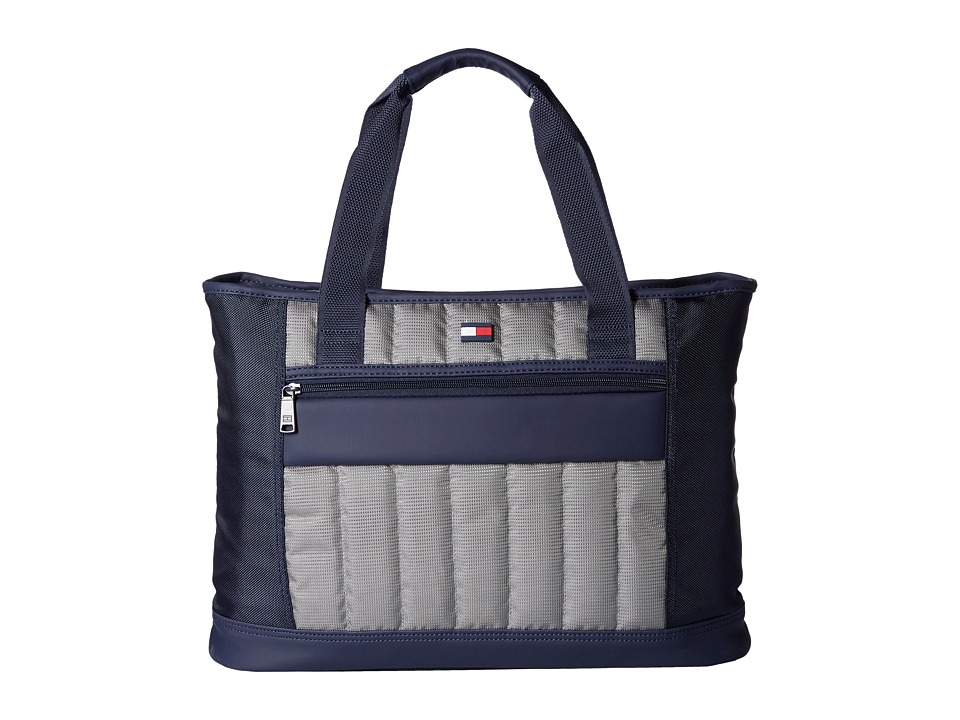 Tommy Hilfiger - Classic Sport Shopper Tote (Navy/Grey) Tote Handbags