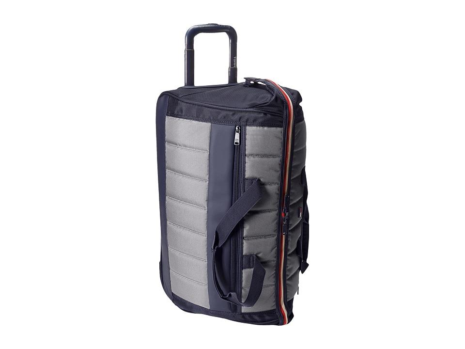Tommy Hilfiger - Class Sport 22 Wheeled Duffel (Navy/Grey) Duffel Bags