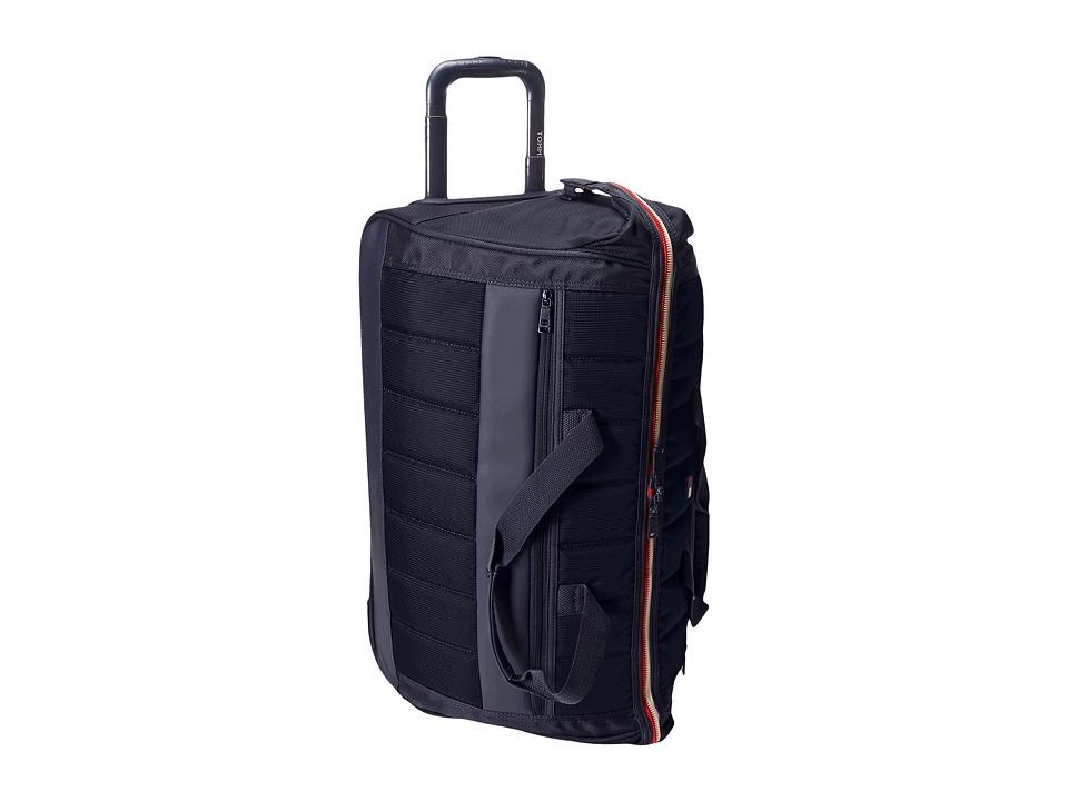 Tommy Hilfiger - Class Sport 22 Wheeled Duffel (Navy/Navy) Duffel Bags