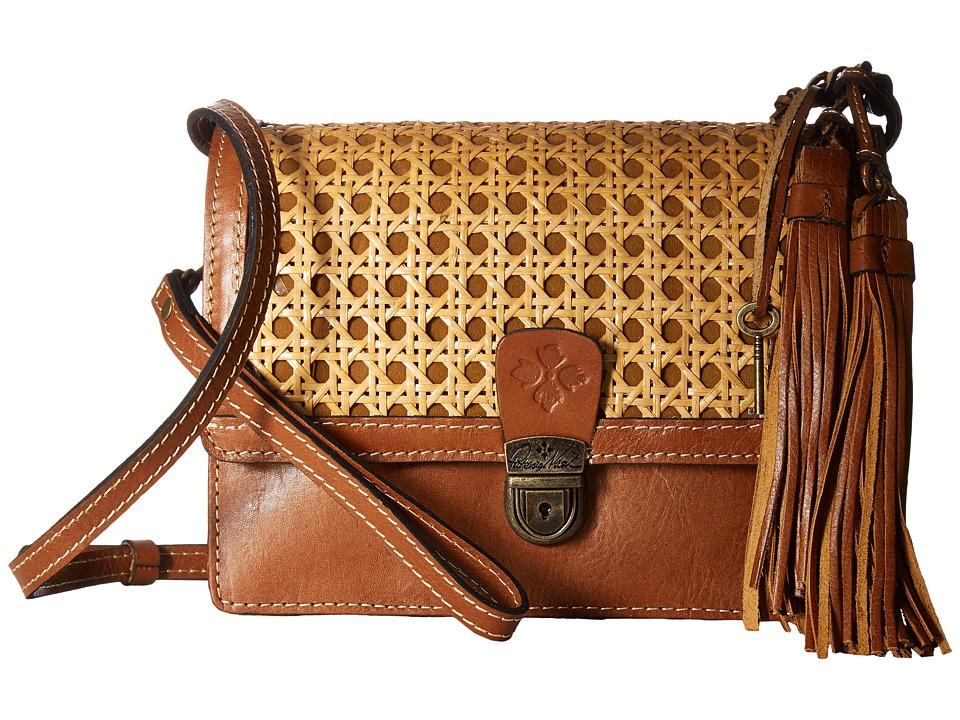 Patricia Nash - Lanza Crossbody Organizer (Natural) Cross Body Handbags
