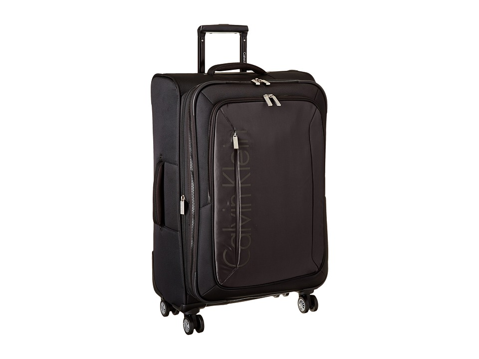 Calvin Klein - Tremont 25 Upright Suitcase (Black) Luggage