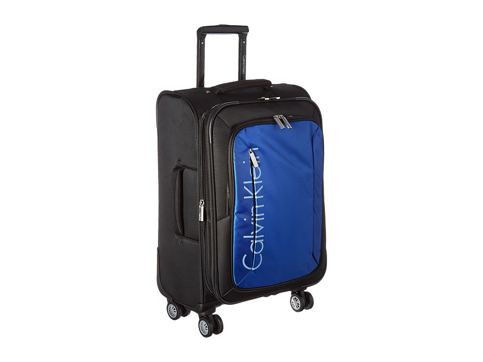 Calvin Klein - Warwick 21 Upright Suitcase (Black) Luggage