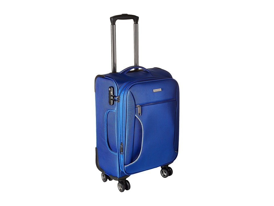 Calvin Klein - Warwick 21 Upright Suitcase (Blue) Luggage
